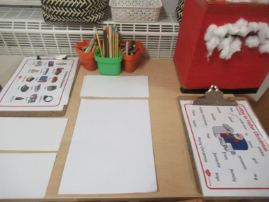 Christmas Writing Station!