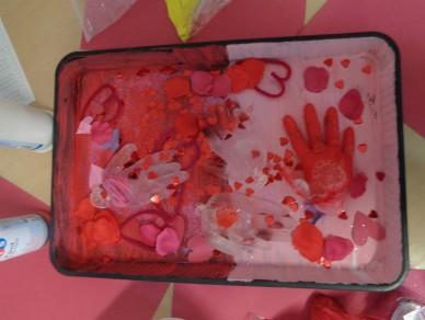 Babies' Valentine's Trays