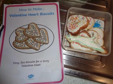 Toddler's Valentine's Biscuit Recipe
