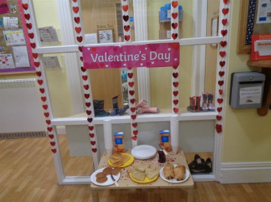 Valentine's Day Stay and Play Breakfast