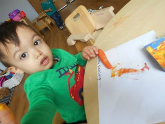 Painting with Carrots!