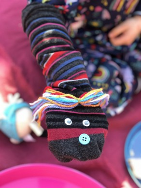 Daily Challenge: Sock Puppets